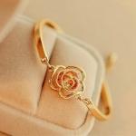 สร้อยข้อมือ แฟชั่น เกาหลี Wild Roses Sweet Goddess Boutique