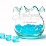 คริสตัลพลาสติก 10มิล สีฟ้า (125 กรัม)