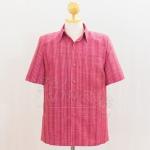 เสื้อสูทผ้าฝ้ายลายก้านมะลิ ไซส์ XL