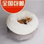 MU0020 ที่นอนแมวหนานุ่ม อบอุ่นเหมือนอยู่ในอ้อมอกแม่แมว Pocket wrapped cat litter