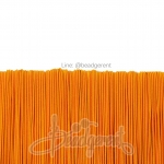 ยางยืด เส้นกลม 1มม. สีส้มสว่าง (144 หลา)