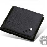 กระเป๋าสตางค์ผู้ชาย PL011 [สีดำ]
