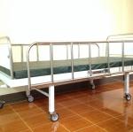 BB01 เตียง 2 ไกร์มือหมุน + ที่นอนตอนเดียวหุ้มหนังเทียม (ส่งฟรี)