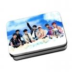 LOMO CARD +กล่องเหล็ก BTS THE WINGS TOUR
