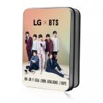 LOMO CARD + กล่องเหล็ก LG x BTS 40รูป