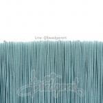 ยางยืด เส้นกลม 1มม. สีฟ้าพาสเทล (144 หลา)