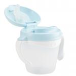 KK-13 ถ้วยหัดดื่ม Kido Drink Cup Step 2 (8 เดือน+) สีฟ้า