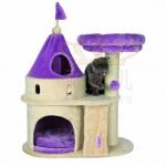 คอนโดแมวที่ลับเล็บแมว รูปทรงปราสาท สูง 90 cm