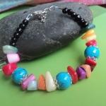 สร้อยข้อมือวินเทจ Stone Bracelet SL102