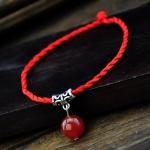 สร้อยข้อเท้า สีแดงรุ่นหญิง Benming สตริงสีแดง