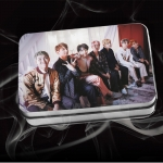 LOMO CARD +กล่องเหล็ก BTS WINGS 30แผ่น