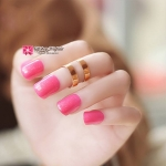 เล็บปลอม เกาหลี แฟชั่น สี Pinks Rose