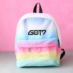 กระเป๋าเป้ GOT7 สีพาสเทล