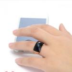แหวนเกาหลีสีดำ