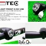 TEC : ไฟหน้าชาร์จ USB