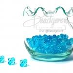 คริสตัลพลาสติก 8มิล สีฟ้า (500 กรัม)