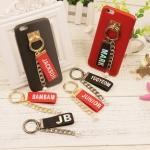 พวงกุญแจ Nametag GOT7 สีดำ (ระบุสมาชิก)