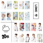 การ์ด LOMO + ไม้หนีบ 20รูป BTS Happy Ever After