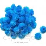 ดอกบานไม่รู้โรย พลาสติก 13*15มม. สีฟ้า (10 กรัม)