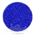 ลูกปัดเม็ดทราย 12/0 โทนด้าน สีน้ำเงินม่วง (15 กรัม)