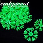 ดอกมะลิบาน ไซส์เล็ก 35มม. สีเขียว (100 กรัม)