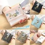 กระเป๋าสตางค์ Mermaid Cat [แบบสามพับ]