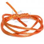 เชือกหางหนู 2มม. สีส้มอิฐ (1 หลา)