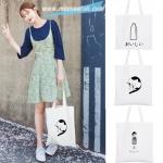 กระเป๋าผ้าเกาหลี B3 ลาย Japanese style