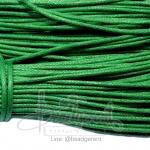 เชือกคอตตอน 1.5มม. สีเขียวเข้ม (90 หลา)
