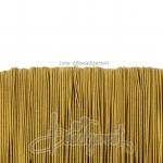 ยางยืด เส้นกลม 1มม. สีทอง (144 หลา)
