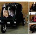 รถเข็นสัตว์เลี้ยงอลูมิเนียมแข็งแรงมาก หรูหรา รถเข็นหมาแมว มีหลายสีให้เลือก สำหรับเดินทางนอกบ้าน ของญี่ปุ่น