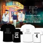 เสื้อยืด EXO CBX