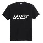 เสื้อยืด NU'EST สีดำ