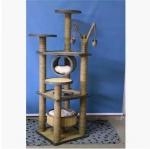 คอนโดแมว ต้นไม้แมว ของเล่นแขวน กระบะนอนพัก สูง 128 cm