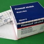 Fixomull Strech 10 ซม.x10 ม.พลาสเตอร์เยื่อกระดาษ
