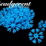 ดอกมะลิบาน ไซส์เล็ก 35มม. สีฟ้า (100 กรัม)
