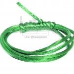 เชือกหางหนู 2มม. สีเขียว (1 หลา)