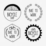 ฉลากสำหรับธุรกิจคุณ สไตล์การออกแบบดีไซน์แบบเรียบๆแต่มีสไตล์ ฉลากไว้ใช้แปะกับแพคเกจเกี่ยวกับธุรกิจร้านจักรยาน // ตัวอย่างดีไซน์ สติ๊กเกอร์ฉลาก Chill Shop Package