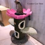 ปราสาทแมวทรงต้นทานตะวัน Camily สูง 127 cm