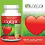 Co Q 10 Trunature อาหารเสริมเพื่อสุขภาพ 150 softgel