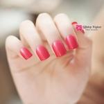 เล็บปลอม เกาหลี แฟชั่น สี Rose light pink