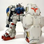 MG 1/100 RX-78 GP02A Gundam GP02 PHYSALIS