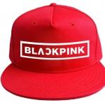 หมวก BLACKPINK สีแดง
