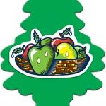 (แผ่นใหญ่) X-tra Strength กลิ่น Green Apple