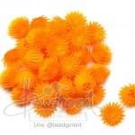 ดอกบานไม่รู้โรย พลาสติก 13*15มม. สีเหลืองเข้ม (10 กรัม)