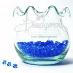คริสตัลพลาสติก 4มิล สีน้ำเงิน (500 กรัม)