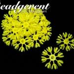 ดอกมะลิบาน ไซส์เล็ก 35มม. สีเหลืองสด (100 กรัม)