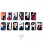 LOMO CARD + กล่องเหล็ก SEVENTEEN CALL CALL CALL 30รูป (ระบุสมาชิก)