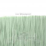 ยางยืด เส้นกลม 1มม. สีเขียวพาสเทล (144 หลา)