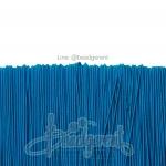 ยางยืด เส้นกลม 1มม. สีฟ้าเข้ม (144 หลา)